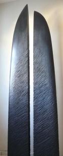 A ton Etoile, fraké, pièce unique, 210 cm, 2010