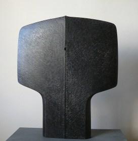 La Porte, tilleul, pièce unique, 50 x 43 cm, 2015