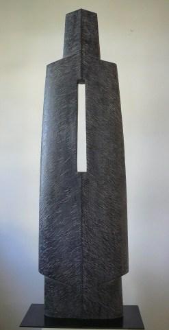 Le Don, frêne, pièce unique, 120 cm, 2014