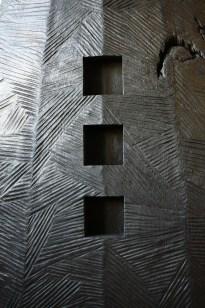 Nuit Blanche, tilleul, pièce unique, 120 cm, 2010
