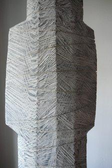 Des années de silence, frêne, pièce unique, 2012