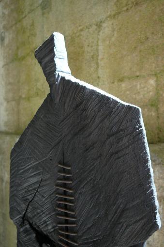 Sorcier, fraké, pièce unique, 2012