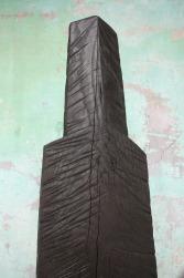 Grande Figure II, frêne, pièce unique, 210 cm, 2012
