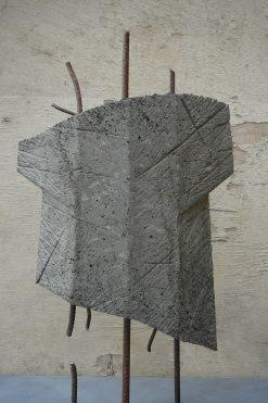 Torse, béton, pièce unique, 63 cm, 2014