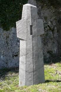 Luttant, béton, pièce originale 1/8, 139 cm, 2014