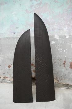 Sous ton Aile, frêne, pièce unique, 2010