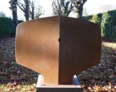 La Porte, acier, pièce unique, 100 x 75 x 20 cm, 2017