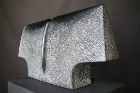 Buste 1, tilleul, pièce unqiue, 50 x 24 x 9 cm, 2017