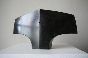 Variation Torse, zinc, pièce originale 1/6, 29,5 x 16,5 x 5,5 cm, 2017