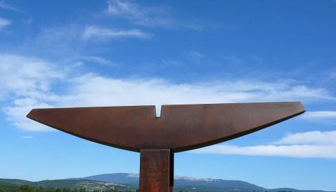 Thorax, acier, pièce unique, 120 x 20 x 10,5 cm, 2017