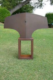 Variation Torse I, acier, pièce unique, 130 x 70 x 21,5 cm, 2017