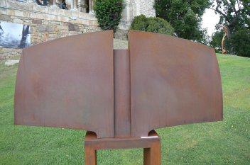 Variation Torse II, acier, pièce unique, 120 x 56,5 x 19 cm, 2017