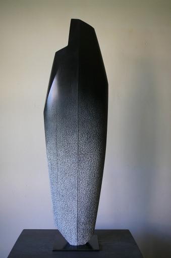 Pierre Levée IV, Hêtre, H 70,5 x L 20 cm, 2019