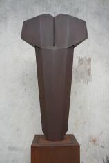 Torse II , Variation acier , H 70 x L 39 cm, 2019
