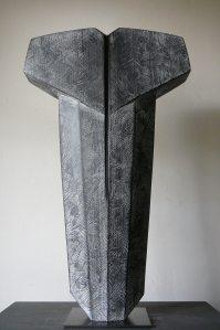 Torse II, Hêtre, H 50 x L 30 cm, 2019